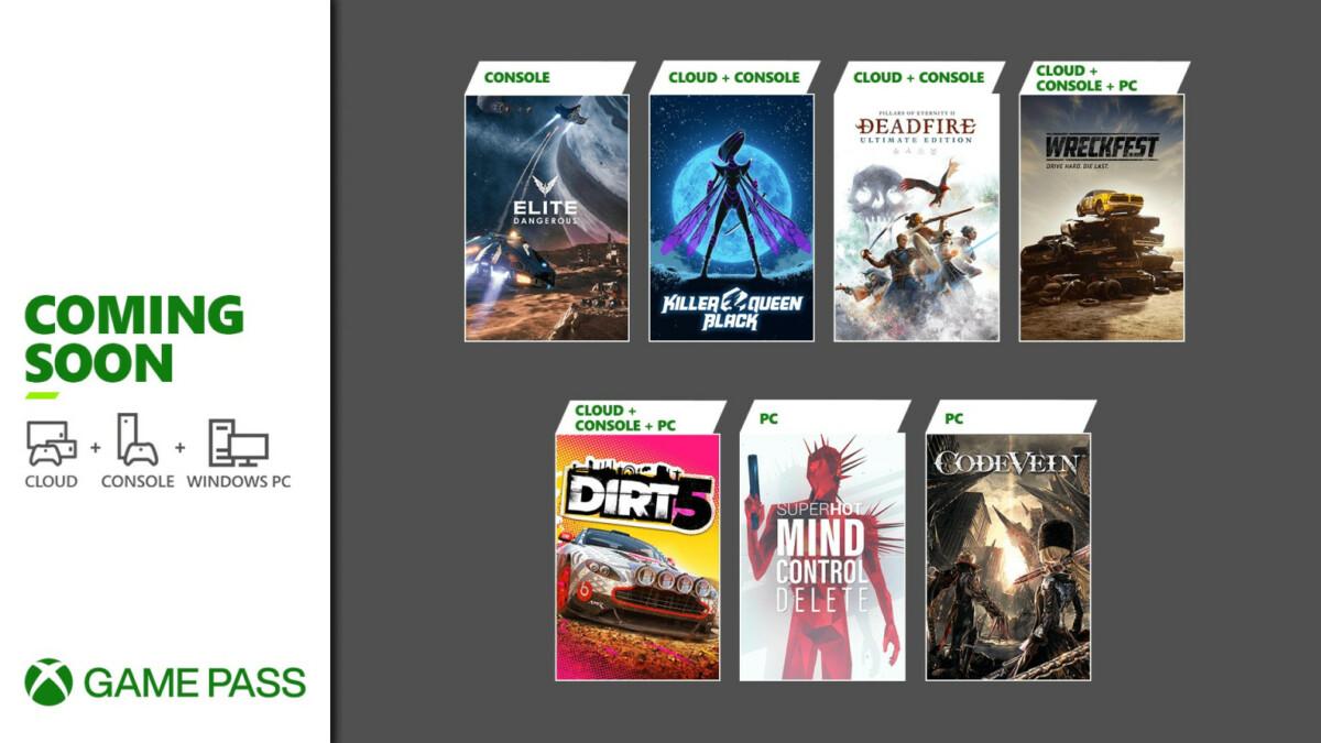 Xbox Game Pass : Dirt 5 et Elite Dangerous débarquent avant la fin du mois