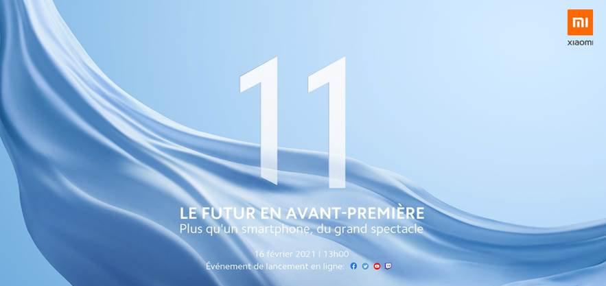 Xiaomi Mi 11 évènement France