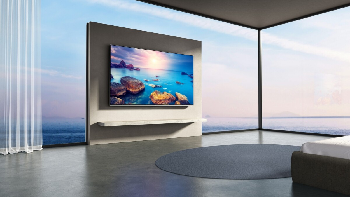The Xiaomi Mi TV Q1 75 inches