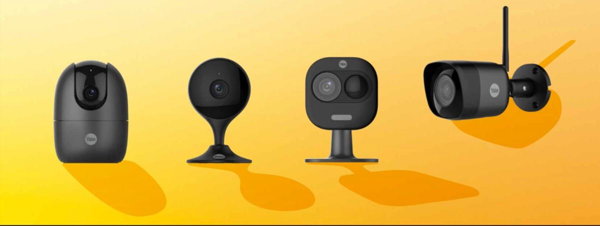 Quatre modèles de caméras de surveillance pour la maison arrivent au catalogue de Yale