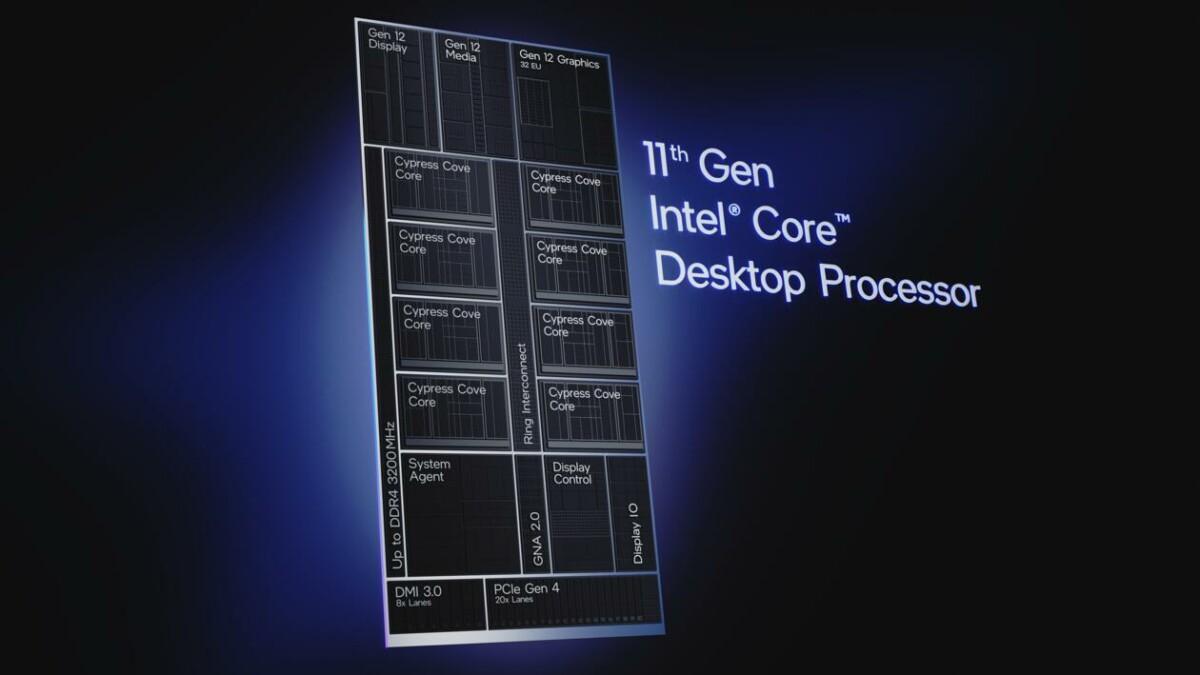 Intel Core S de 11e génération est officialisé : tout savoir sur les 19 nouveaux CPU pour PC de bureau