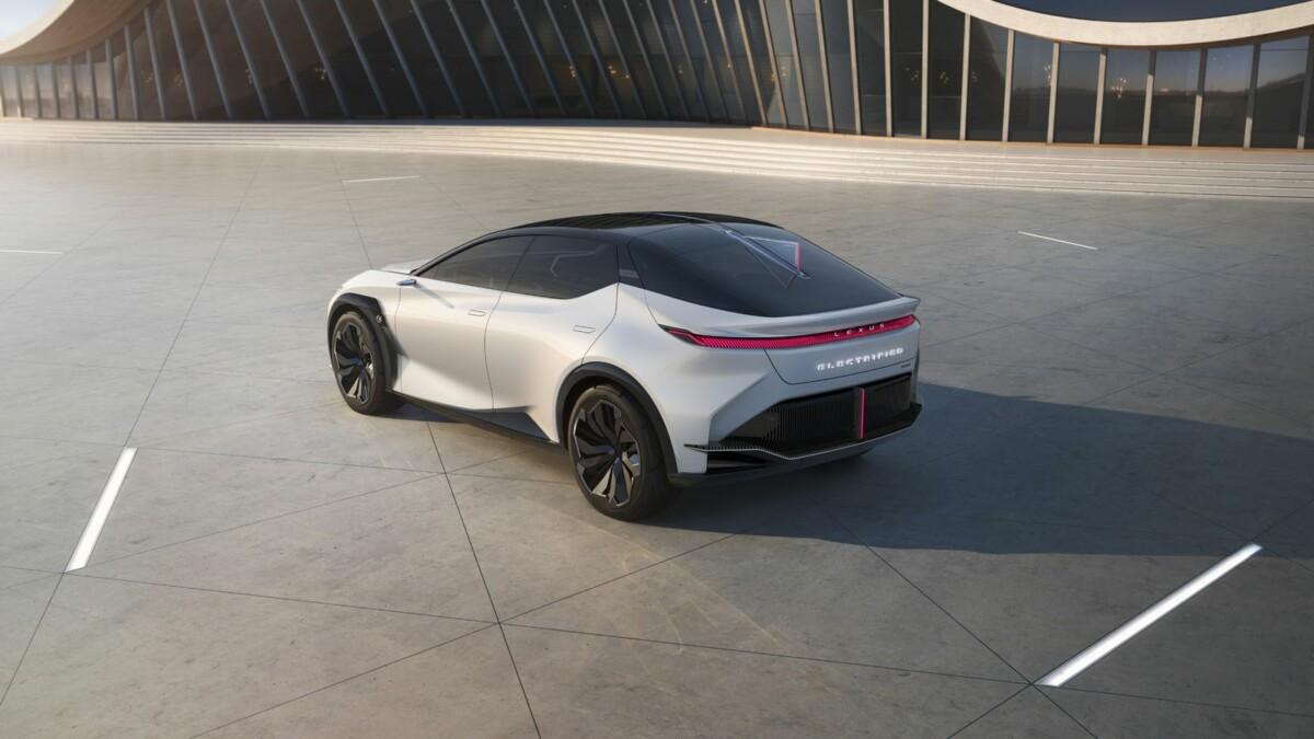 The Lexus LF-Z