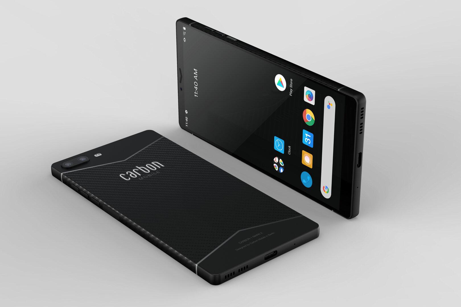 Carbon 1 MK II : voici le smartphone allemand conçu en fibre de carbone - Frandroid