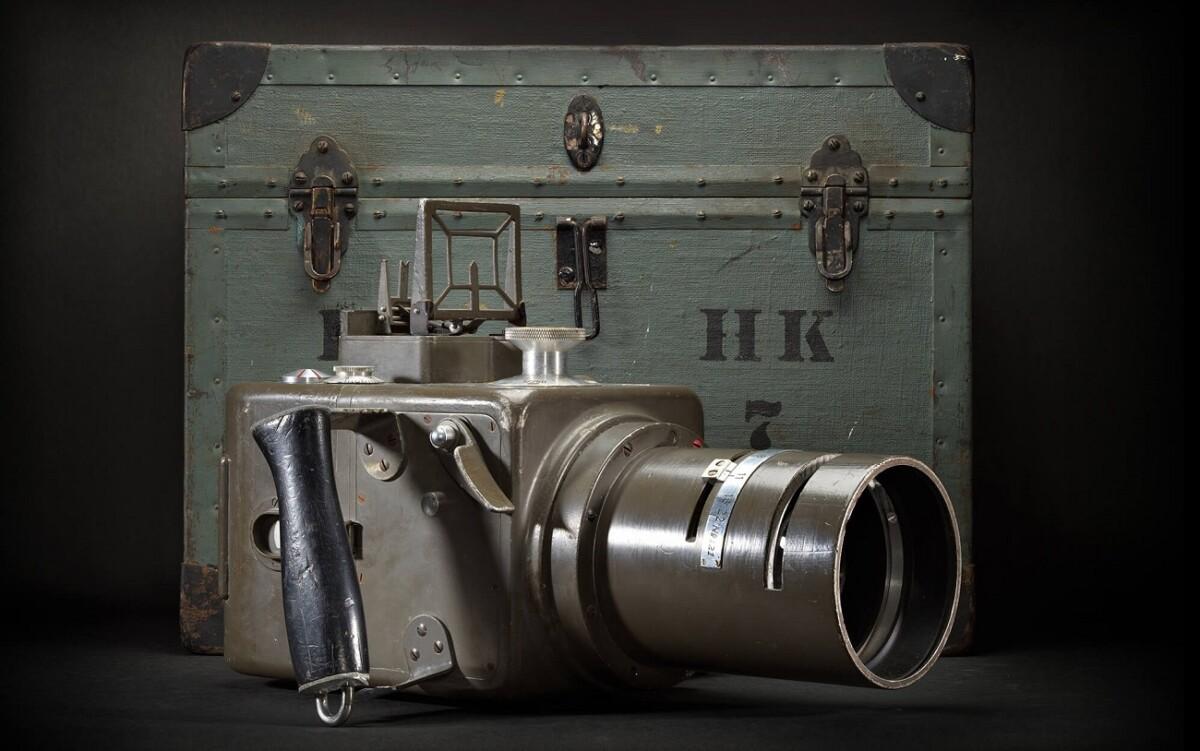 Le HK-7, premier appareil photo de Hasselblad