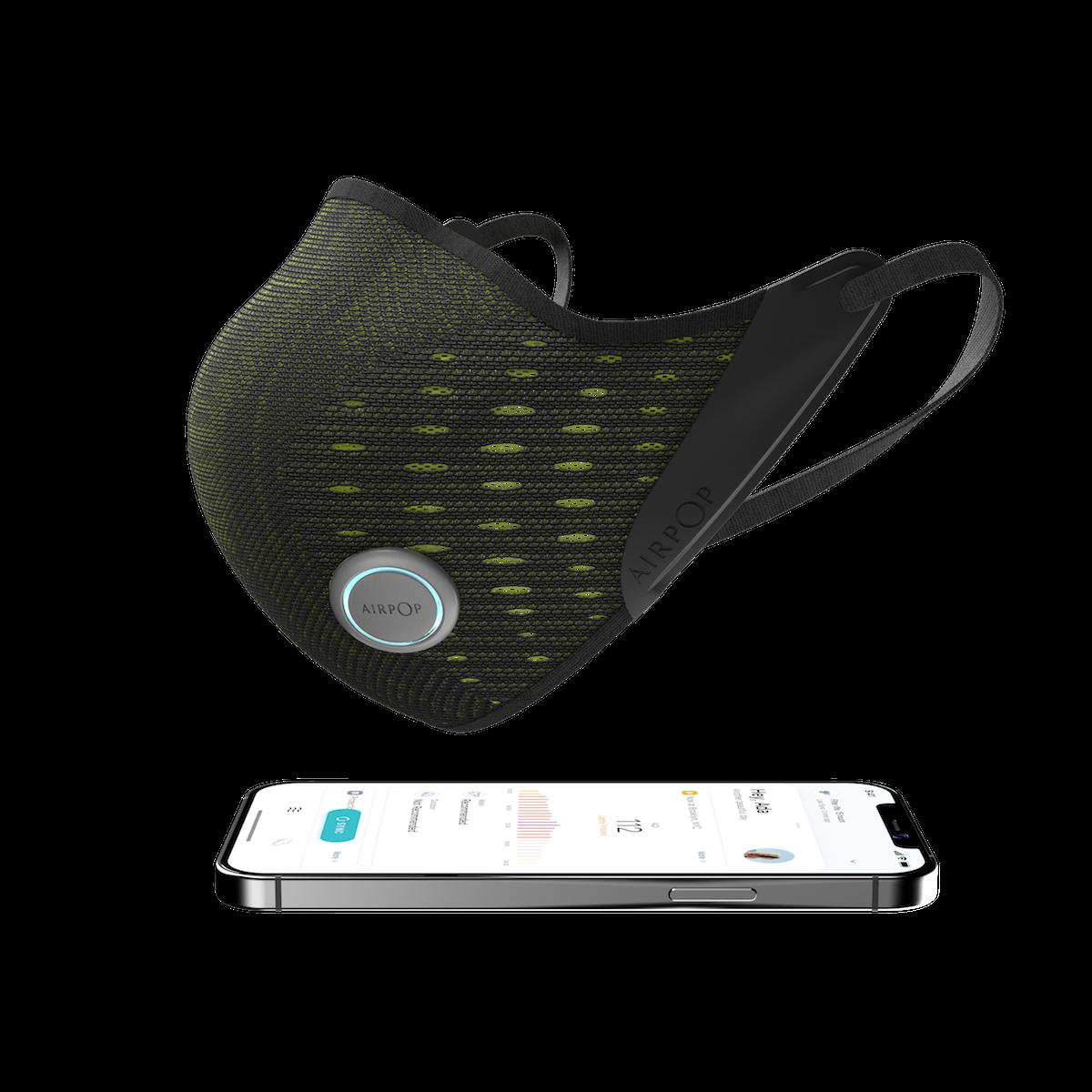 Le masque intelligent AirPop Active+ et son app