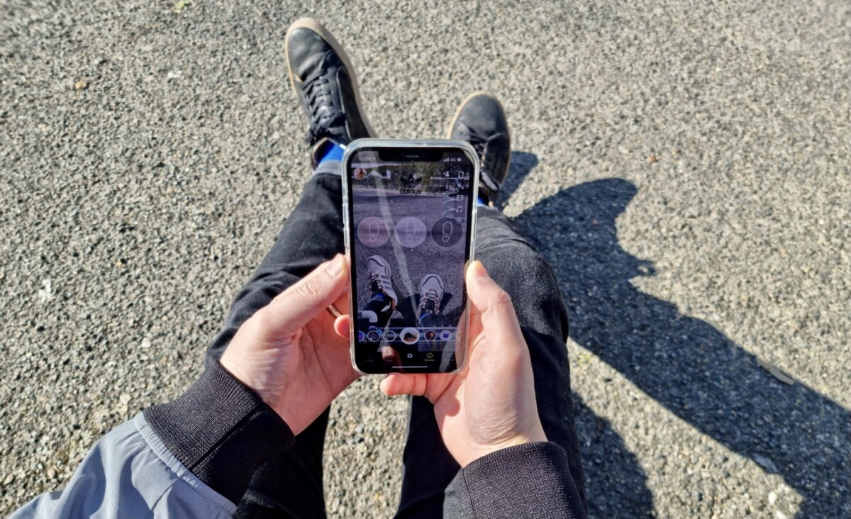 Snapchat and Adidas put virtual sneakers at your feet