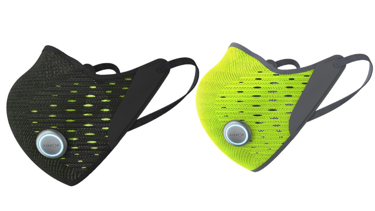 Les masques intelligents AirPop Active+