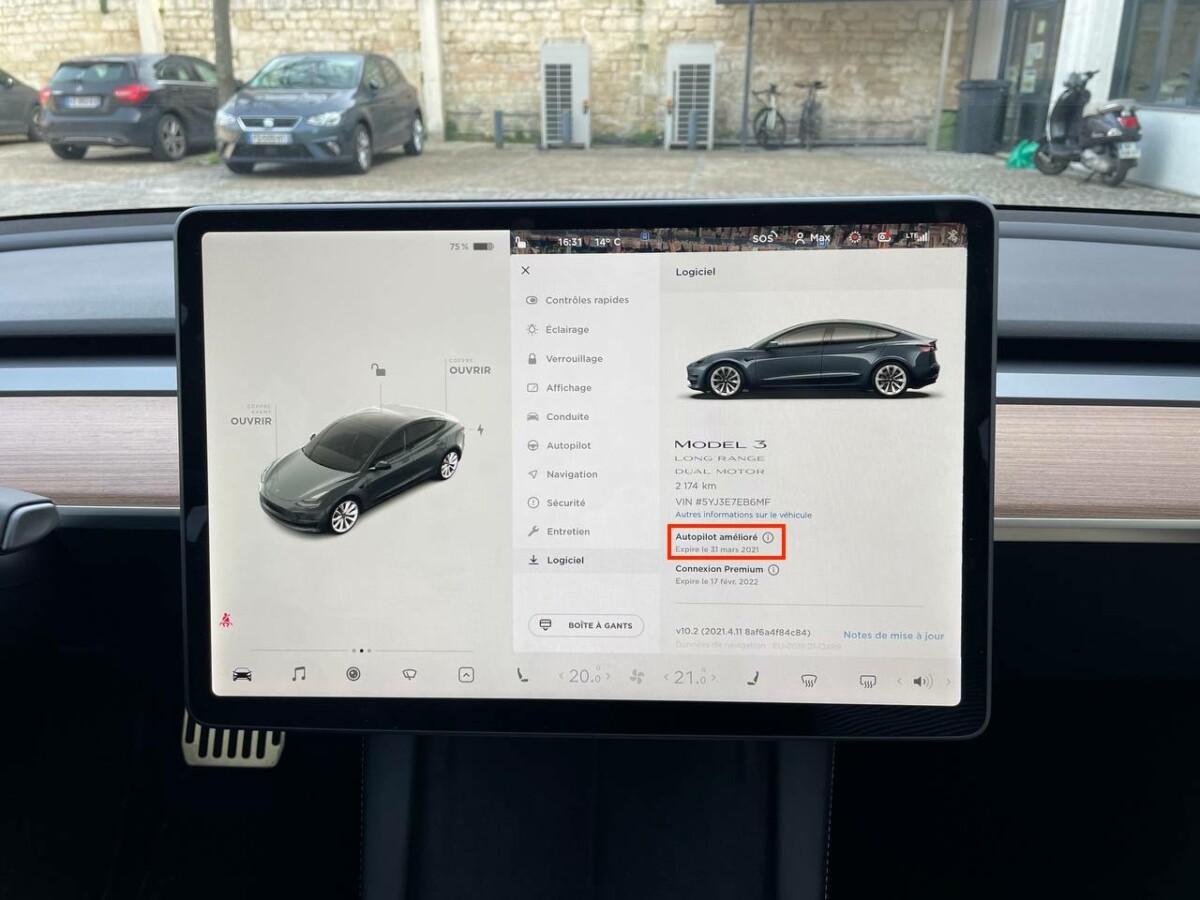 L'option Autopilot Amélioré pour 14 jours