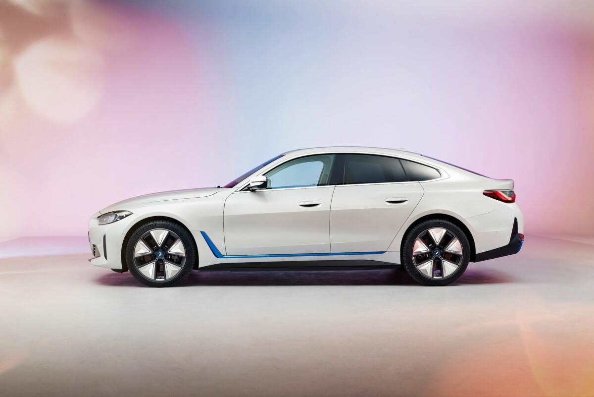 La BMW i4 électrique