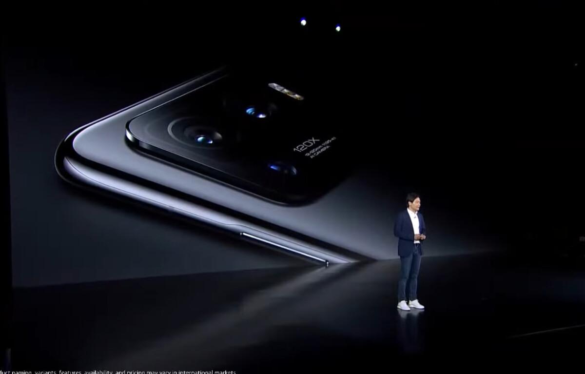 Le bloc photo du Xiaomi Mi 11 Ultra a eu le droit a un focus lors de sa présentation en conférence.