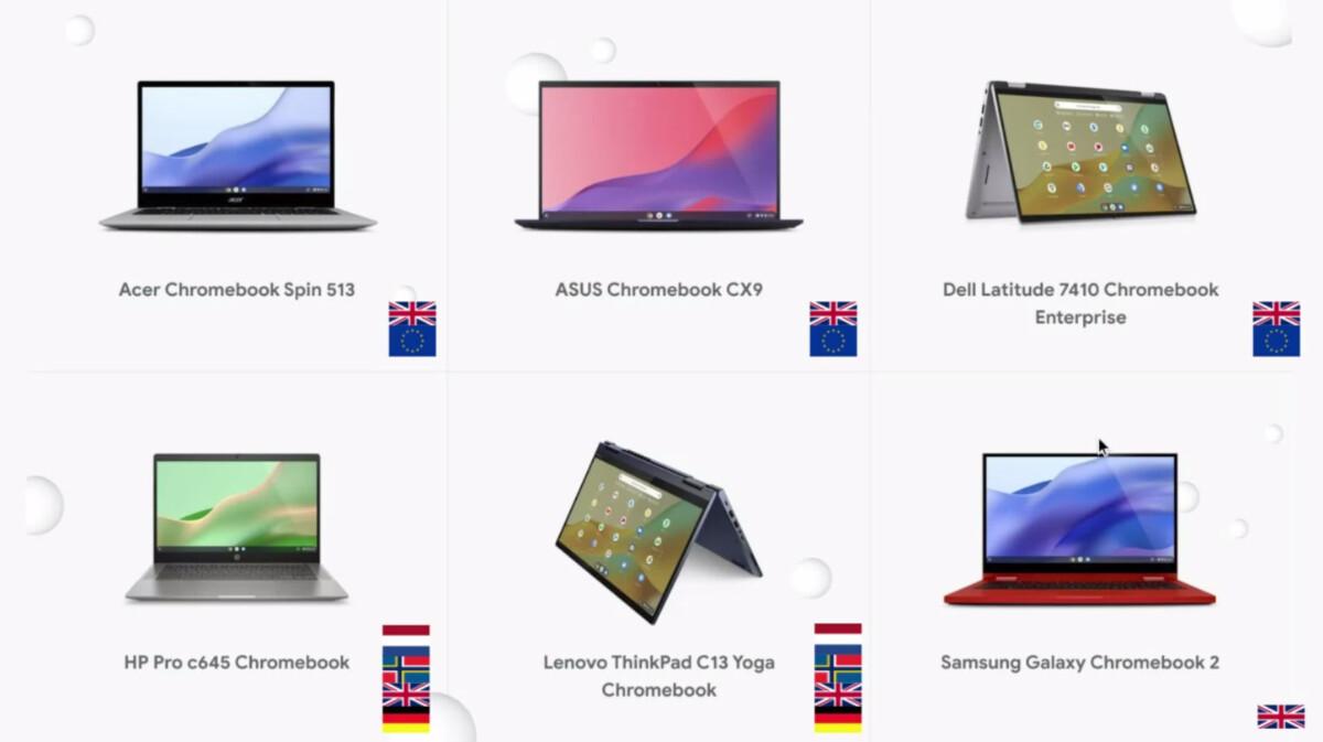 Chromebook : une connexion avec votre Android et 8 autres nouveautés pour les 10 ans de l'OS