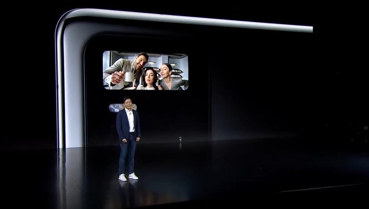 Le bloc photo du Xiaomi Mi 11 Ultra.