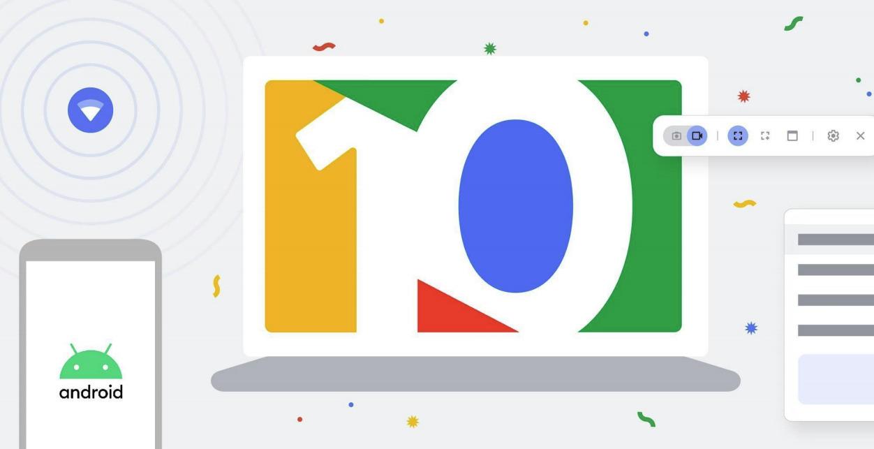 Chromebook : une connexion avec votre Android et 8 autres nouveautés pour les 10 ans de l'OS - Frandroid