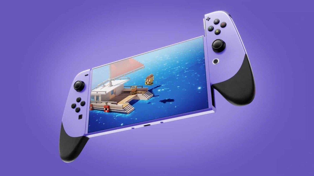Ceci n'est pas la Nintendo Switch Pro, mais elle pourrait ressemble à ça