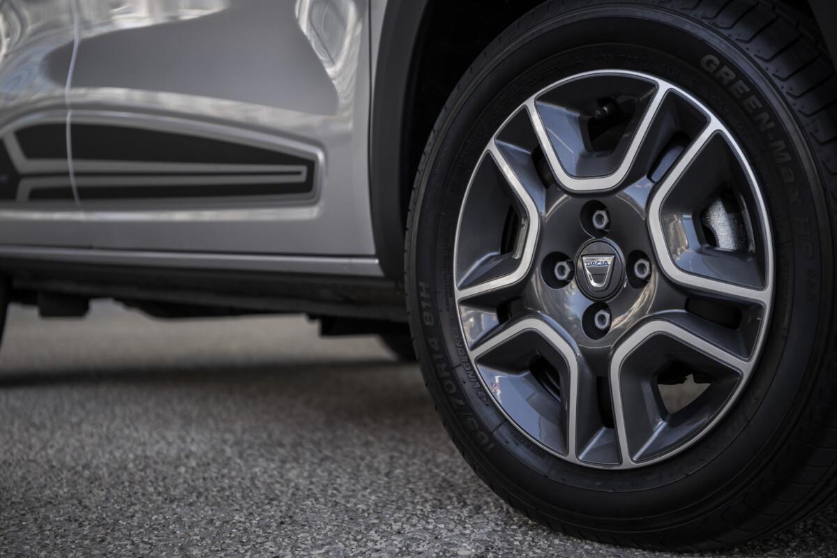 Les petites roues de la Dacia Spring
