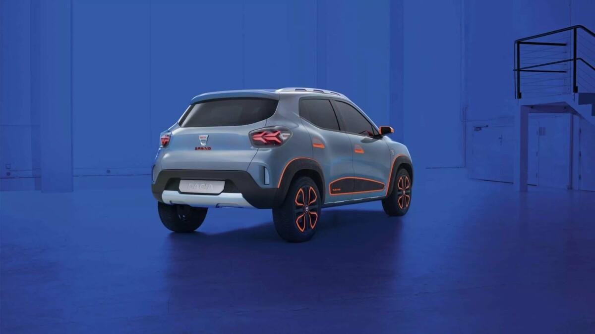 Dacia Spring Électrique Showcar