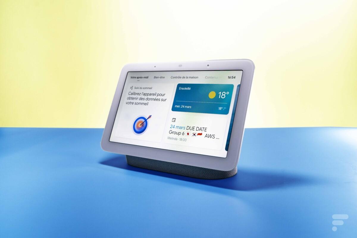 Le Google Nest Hub 2e génération