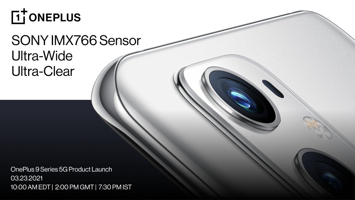 OnePlus 9 - Capteur UW de 50 MP