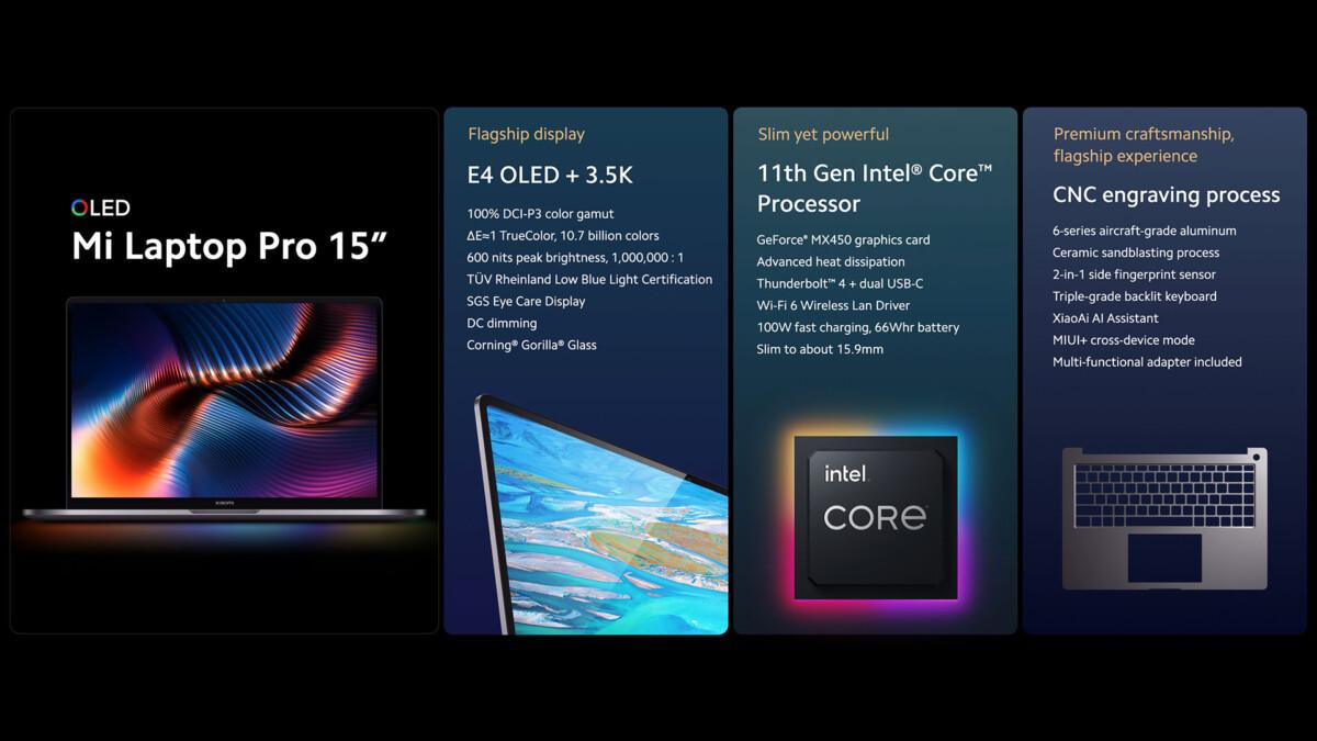 Xiaomi Mi Laptop Pro 15