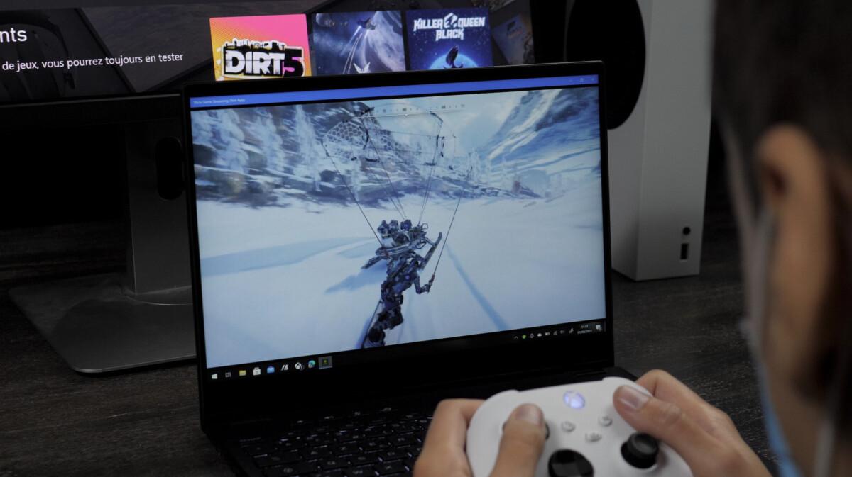 Le Xbox Game Pass sur PC avec xCloud