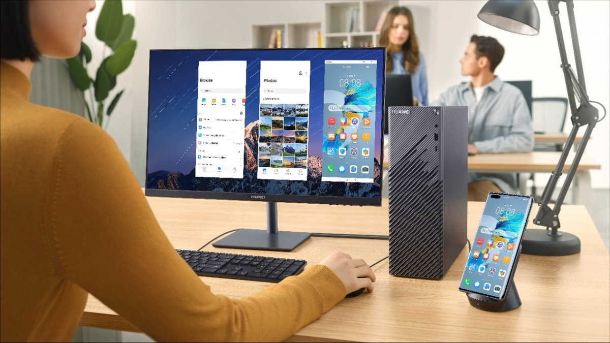 huawei matestation s - MateStation S: Huawei unveils its first desktop PC in France