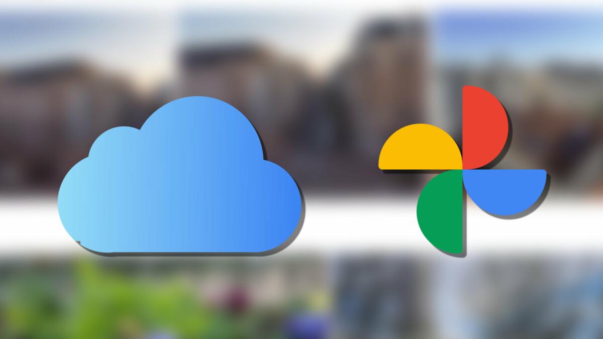 Transfert iCloud vers Google Photos