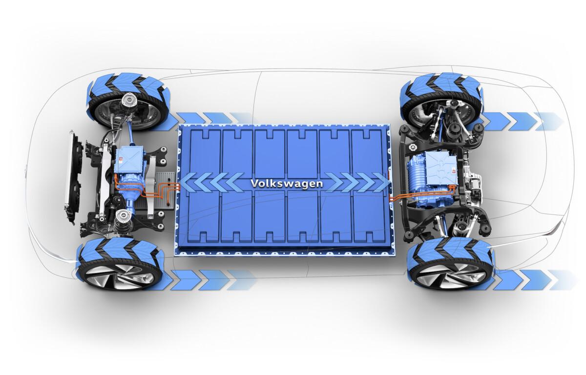 Battery du concept ID Vizzion