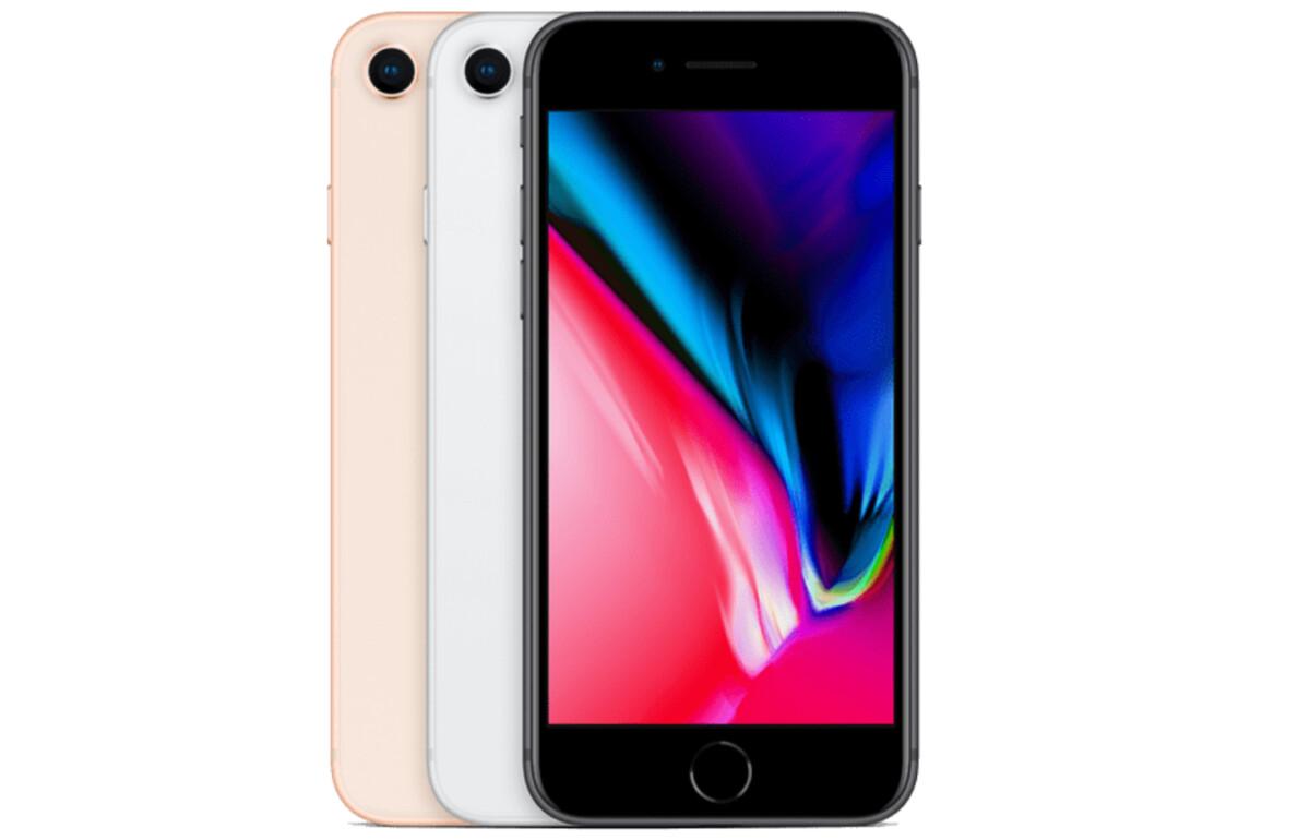 RED offre gratuitement un iPhone 8 reconditionné avec son nouveau forfait mobile