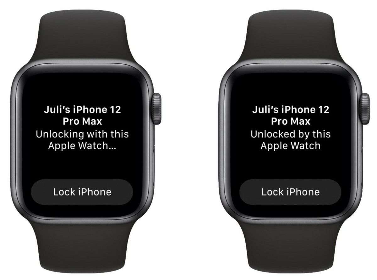 iOS 14.5 - unlocking with Apple Watch