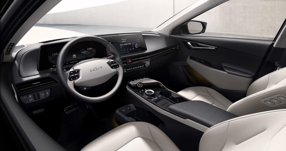 L'intérieur du Kia EV6