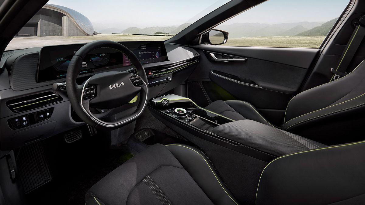 L'intérieur du Kia EV6 GT