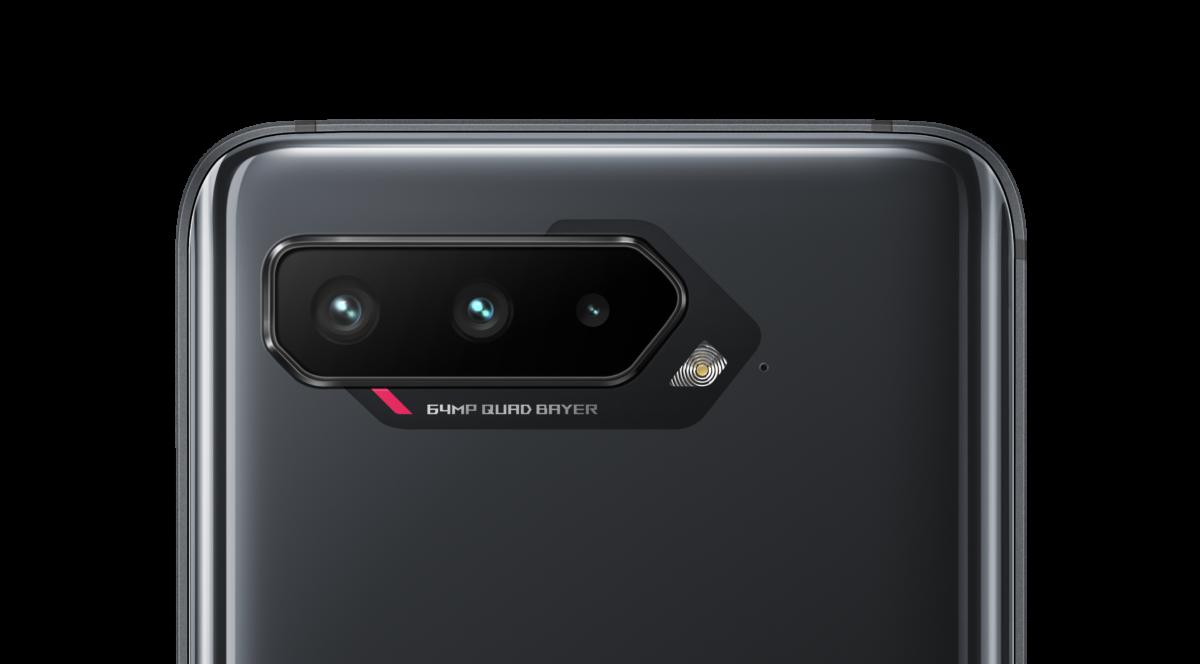 Le triple capteur photo des ROG Phone 5