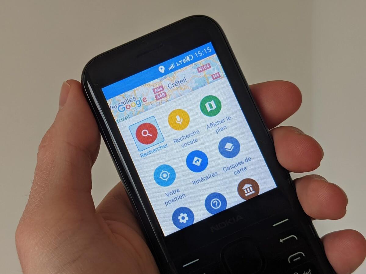 Google Maps sur le Nokia8000