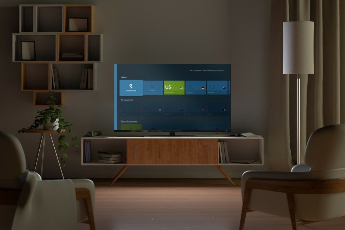 NordVPN's app is even available on smart TVs.  Which is handy for watching Netflix.