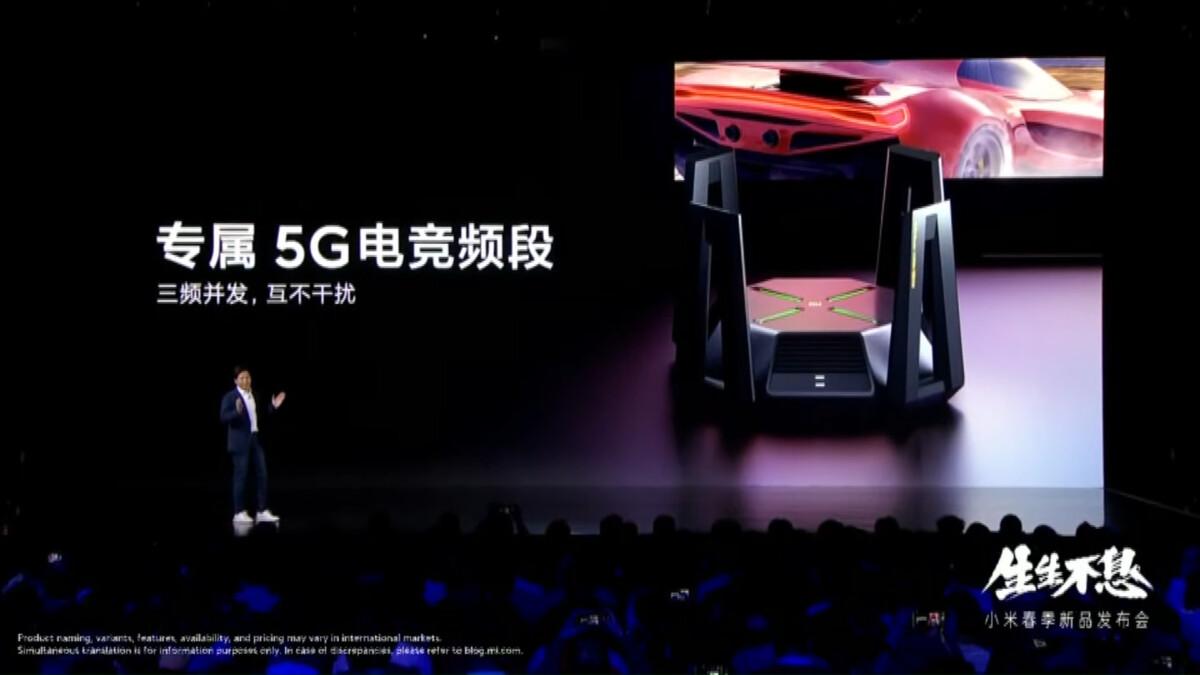 The Xiaomi AX9000 router
