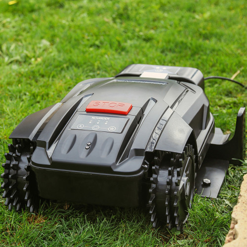 The Novarden NRL 250 Connect robotic lawnmower
