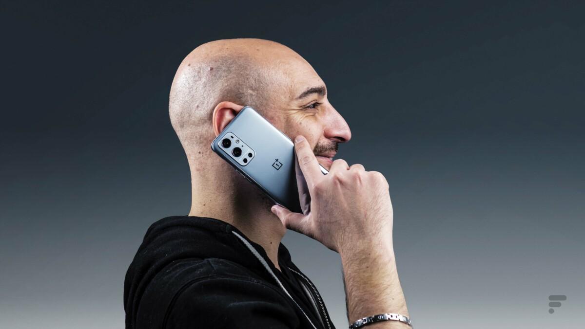 Les appels sont de bonne qualité avec le OnePlus 9 Pro