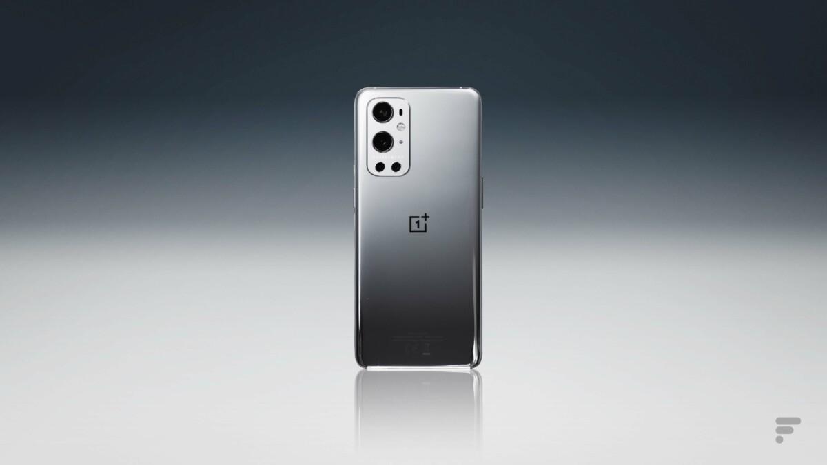 Le dos du OnePlus 9 Pro