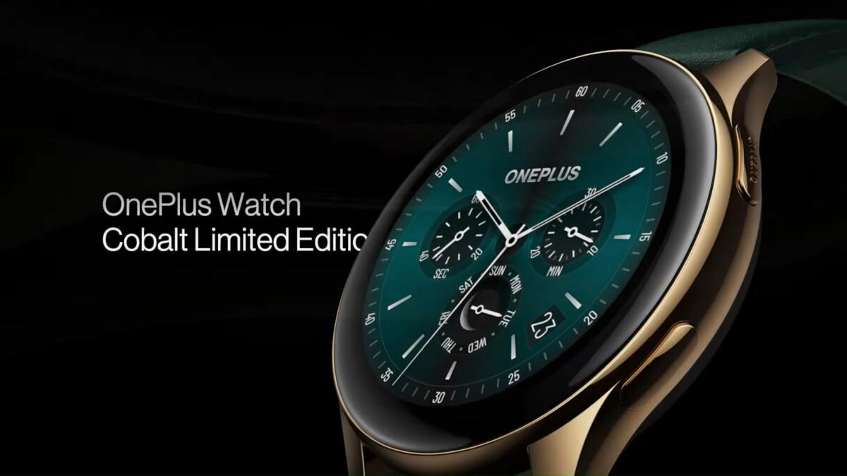 L'édition limitée de la OnePlus Watch