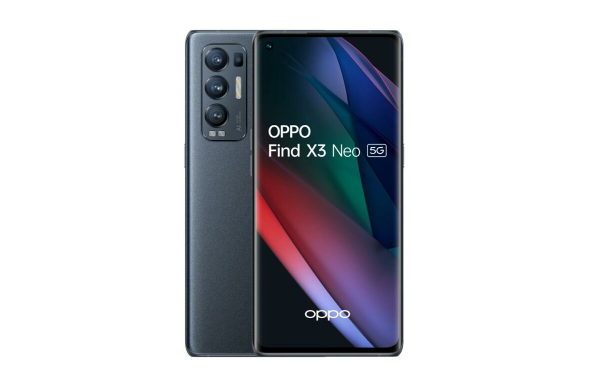 The new OPPO Find X3 Neo.