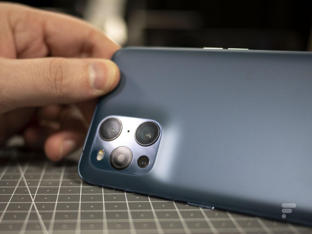 Le module photo de l'Oppo Find X3 Pro