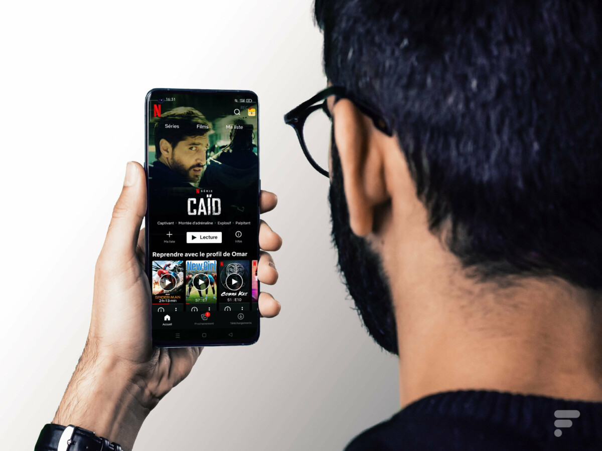 Netflix sur l'Oppo Find X3 Pro