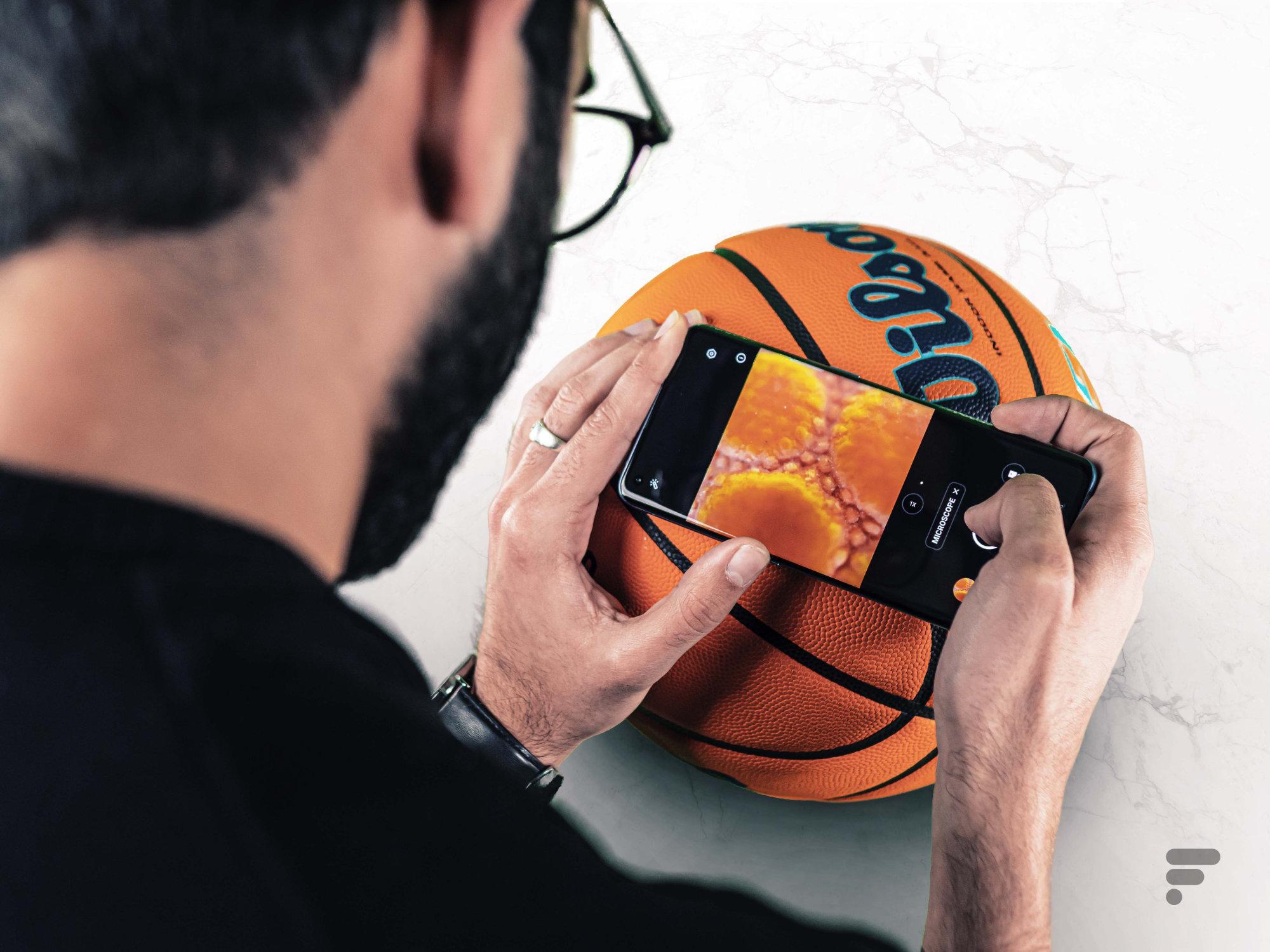 Un microscope sur un smartphone, est-ce bien nécessaire ? - Frandroid