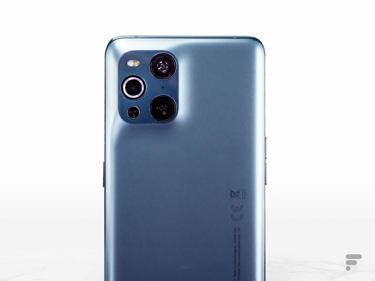 Module photo de l'Oppo Find X3 Pro