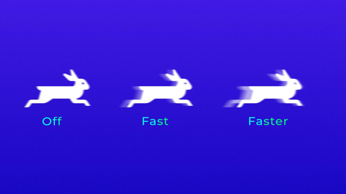 L'activation de l'overdrive peut créer des problèmes d'overshoot