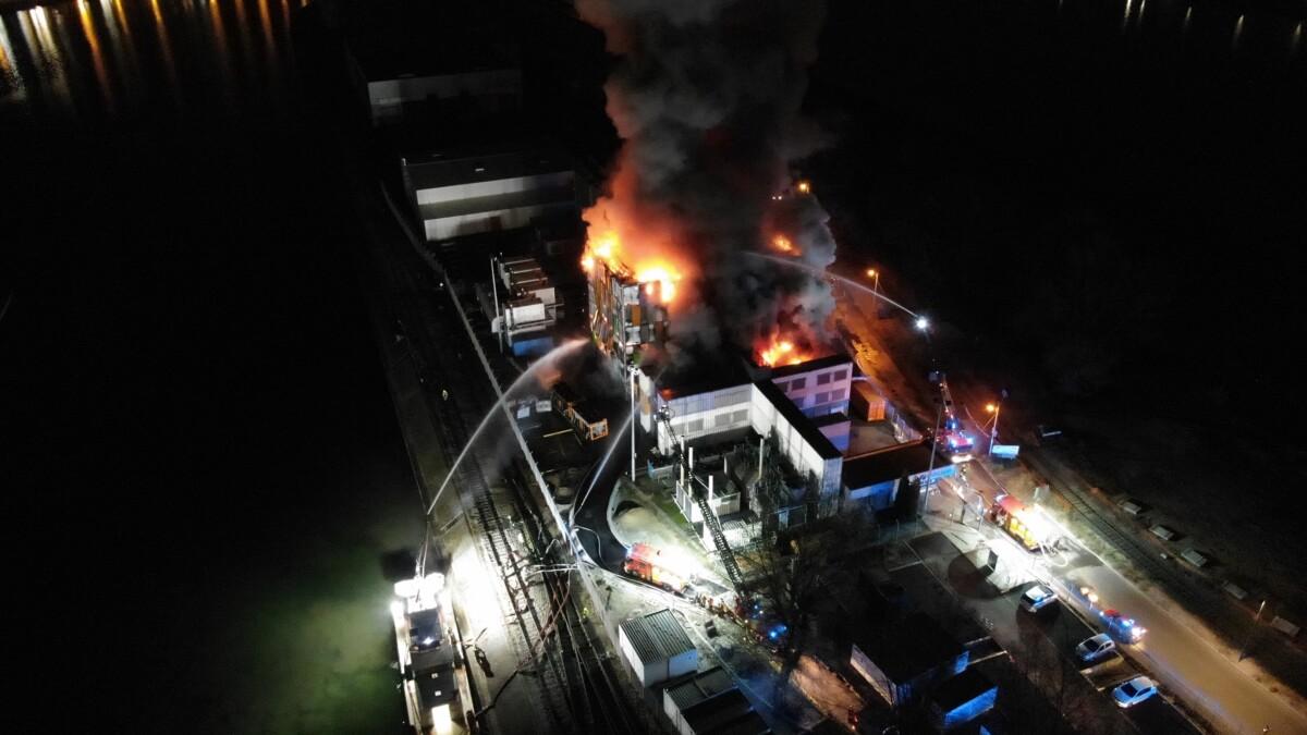 Le centre données de Strasbourg en flammes