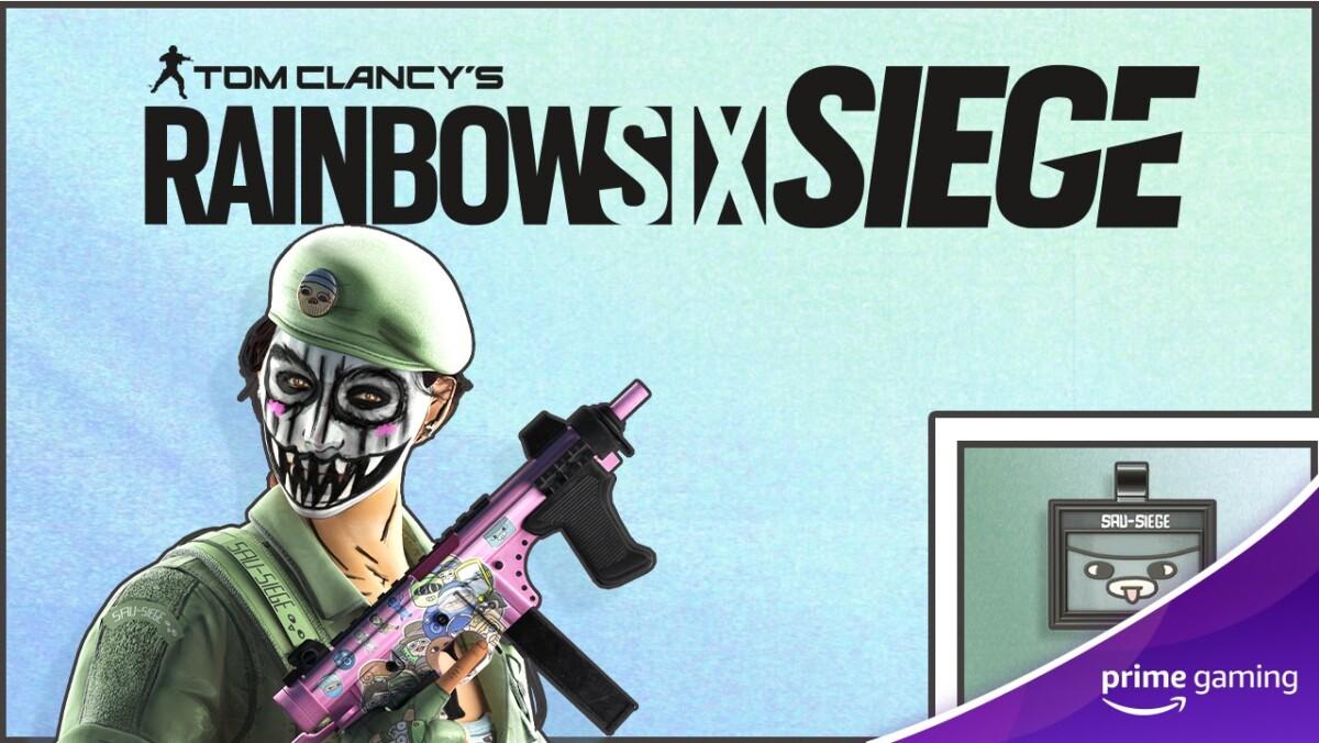 Free skins for Rainbow Six Siege