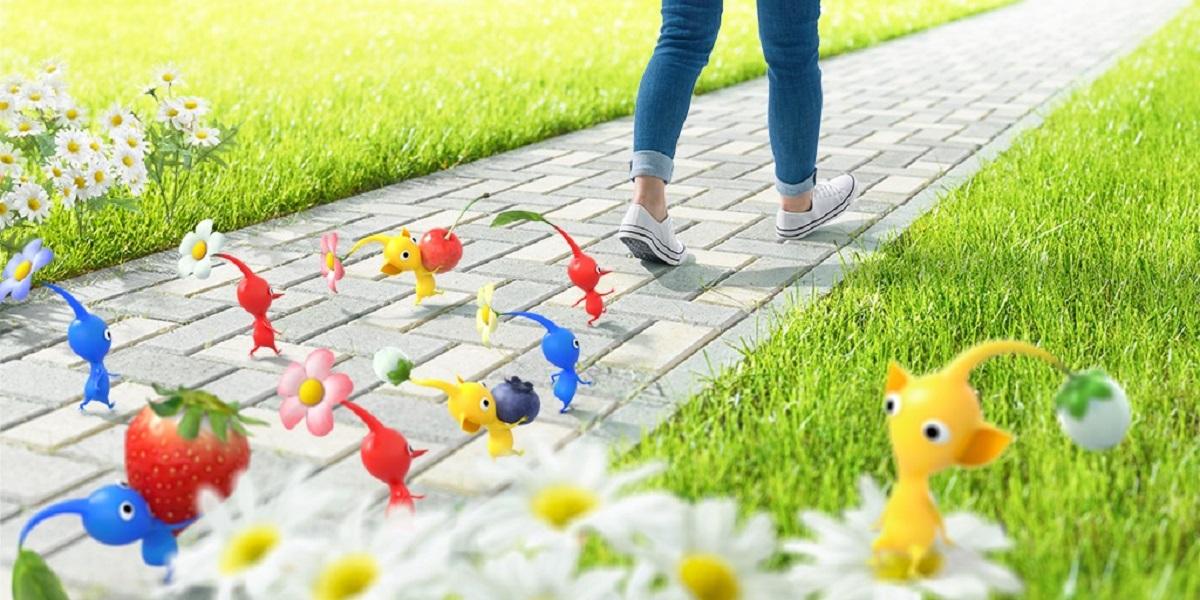 Un jeu Pikmin comme Pokémon Go