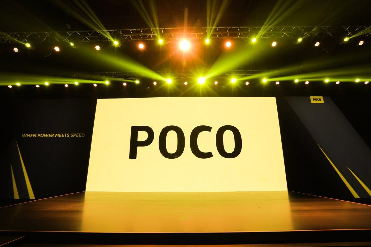 Poco, the Xiaomi sub-brand