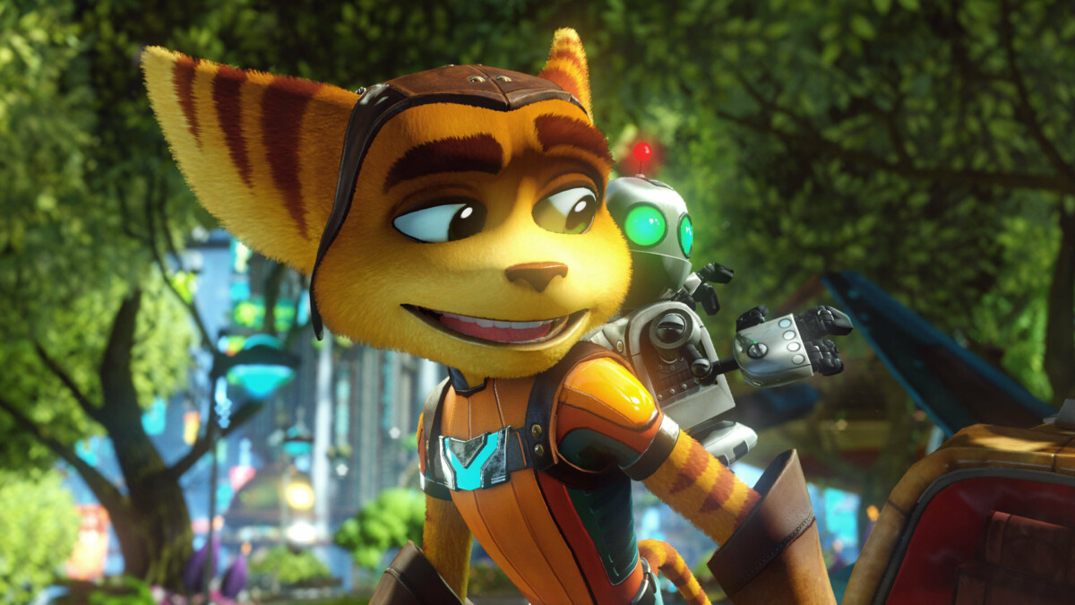 The Ratchet & Clank game